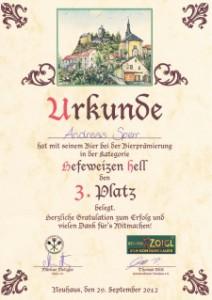 2012-WeizenHell-Urkunde-Platz3-mittel