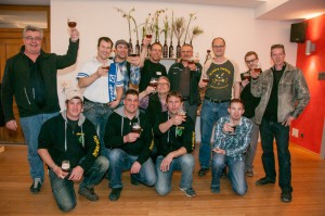 Siegerfoto mit Andy von Vierbrau